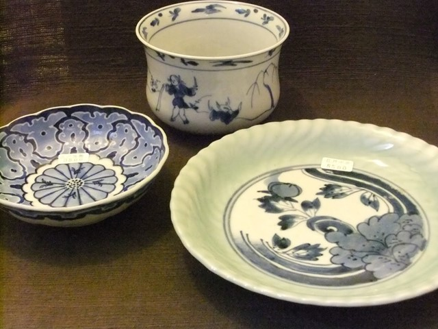 100年経った陶器