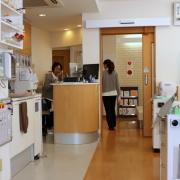 診療室の風景