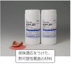 熱可塑性義歯の材料