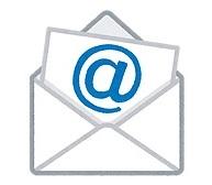 メールBOXのイラスト